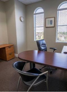 An office space in Boca Raton Florida.