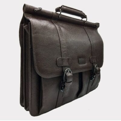 Gunas Black Briefcase