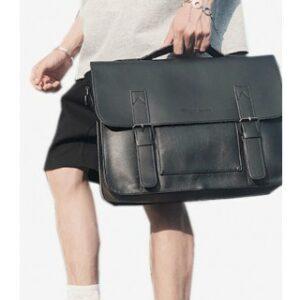 man carrying Tokyo Bag briefcase