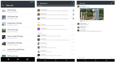 Screenshot of Rocket.Chat interface